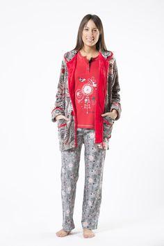 27004a7a8 pijama cue mujer woman piyama españa invierno winter sleep wear ropa dormir  noche Camisetas Largas