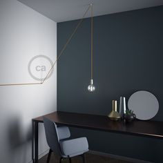 """Decentralizer, White """"V"""" ceiling or wall hook for any fabric electric cable"""