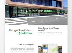 Google Street View za podjetja Street View, Website, Google, Outdoor Decor