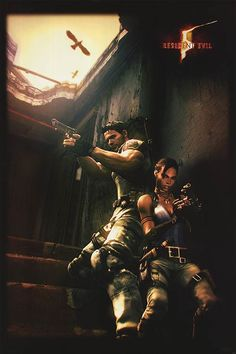 MPW-59001 (500×751) Leon S Kennedy, Resident Evil 5, Types Of Zombies, Umbrella Corporation, Pose, Evil Art, Video Games, Horror, Survival