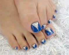 Pedicure Nail Art Designs for Fall-Latest Nail Art Design Trends toe nails Pedicure Nail Art, Pedicure Nail Designs, Toe Nail Art, Blue Pedicure, Nails Design, Pedicure Ideas, Nail Nail, Easy Toenail Designs, Pedicure Summer