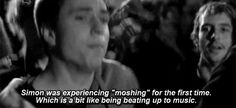 And you pretended that moshing was the best thing ever, and not at all life-endangering or painful. | 26 Things Only '00s Emo Kids Will Understand