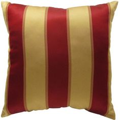 "Better Homes and Gardens Amedori Stripe 18""x18"" Decorative Pillow, Brown"