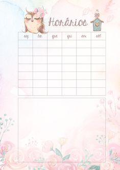 Tagesplaner Wochenplaner Mini-Memo-Kalender Sweet Time 2019 Schreibtischkalender Wochenplaner