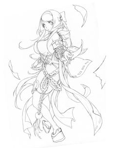 Manga Drawing, Manga Art, Drawing Sketches, Art Drawings, Female Character Concept, Character Art, Character Design, Lineart Anime, Hyung Tae Kim