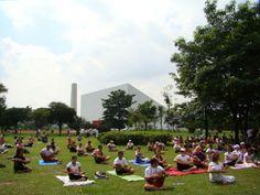 O objetivo do evento, além de homenagear o parque mais querido da capital, é mostrar aos participantes a importância da respiração consciente na qualidade de vida.