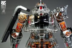 PG 1/60 Zaku II Clear Ver. Painted Inner Frame - Gundam Kits Collection News and Reviews