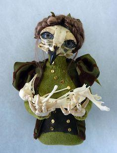 by Esther Verschoor, using found animal bones