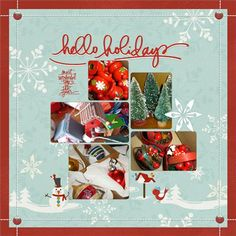 Suddenly, It's Christmas! - Club CK - The Online Community and Scrapbook Club from Creating Keepsakes