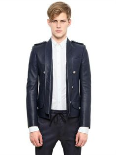 SPENCER WASHED LEATHER JACKET