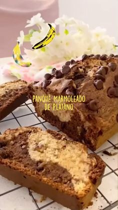 Baking Recipes, Snack Recipes, Snacks, Vegan Foods, Healthy Desserts, Delicious Vegan Recipes, Yummy Food, Sweet Cooking, Dessert Bread