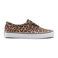 Vans Authentic Leopard