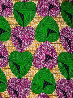African Fabric Super Wax Print