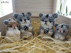 hamster amigurumi pagina japonesa