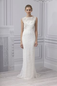 Monique Lhuillier ML Bridal SP13Look15 Poet