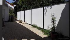 Sicht- und Laermschutzwand für den Garten