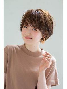Korean Short Hair, Very Short Hair, Short Hair With Bangs, Short Hair Cuts, Hot Hair Styles, Medium Hair Styles, Curly Hair Styles, Short Hairstyles For Women, Hairstyles With Bangs