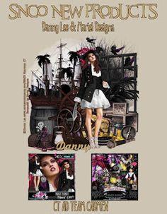 Carmen designs: Pirate Bandit