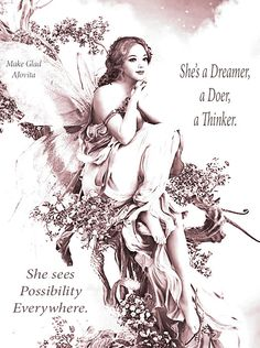 Be a woman who never stops seeing the possibilities in life ~ created by Jovita...