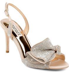 Badgley Mischka Rennie Embellished wedding shoes (affiliate) #weddingshoe #weddings #weddingstyle #shoes Bridal Heels, Slingback Sandal, Badgley Mischka, Wedding Shoes, What To Wear, Nordstrom, Pumps, Style Inspiration, Sunglasses