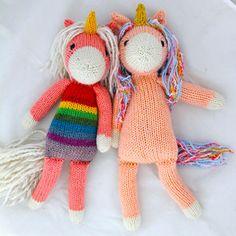 Nilla the Unicorn Knitting pattern by Rachel Borello Carroll - sitricken decken Knitting Terms, Knitting Blogs, Free Knitting, Knitting Projects, Baby Knitting, Summer Knitting, Unicorn Knitting Pattern, Animal Knitting Patterns, Sweater Patterns