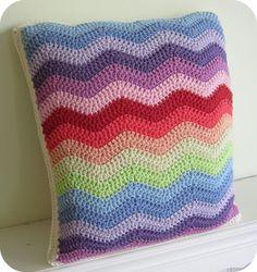 Tuto coussin crochet