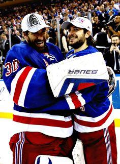 Henrik Lundqvist & Mats Zuccarello - New York Rangers