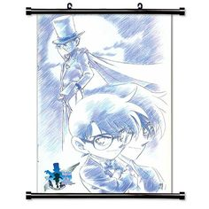 Detective Conan - Case Closed Anime Fabric Wall Scroll Poster (32 x 44) Inches *** Additional details at the pin image, click it  : DIY : Do It Yourself Today