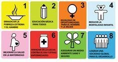 Objetivos del Milenio, leemos una artículo en el que se reflexiona sobre el grado de cumplimiento de los objetivos que se plantearon