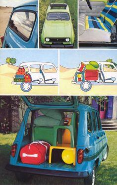 Publicité Renault 4L Safari