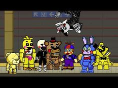 Scribblenauts Unlimited 86 Five Nights at Freddy's 2 Animatronics in Object Editor - YouTube