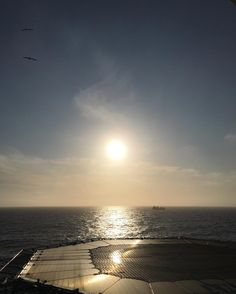 #scottland #kraken field #offshore #fantastic #this #morning #night #shift #exploringglobe #landscapeofnorway #nrkvestfold #nortrip #dreamchasersnorway #offshorelife #northseagigant #vessel #sun ahead #good night by siv_lea