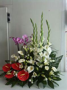 Productores artesanos del arte floral