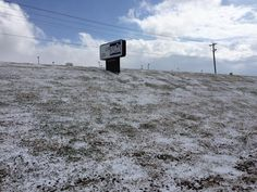 Our facility's sign February 20, 2015 in Athens, TN - the temperature was very cold.