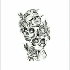 Tätowierungs-Kunst - Tattoo Trends and Lifestyle Dope Tattoos, Tatuajes Tattoos, Kunst Tattoos, Leg Tattoos, Body Art Tattoos, Girl Tattoos, Sleeve Tattoos, Tattoo Art, Inca Tattoo