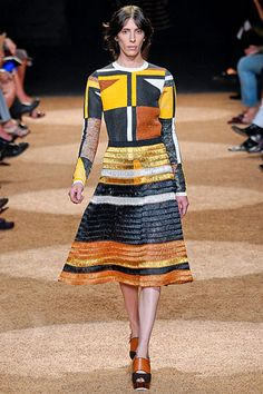 Proenza Schouler, with a nod to Sonia Delaunay