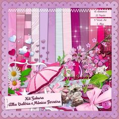 FREEBIE : Kit-Sakura - Free-digiscrap.com : le digiscrap gratuit ! The free digiscrap resource !
