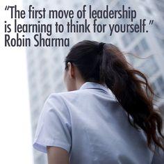 #Leadership #RobinSharma