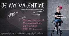 Marketing Template Valentine Mini Session by SweetHeartStudios