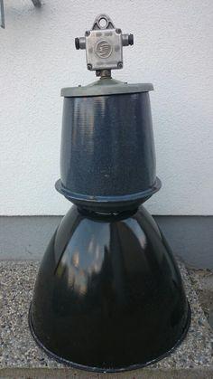 Factory big enamel lamp