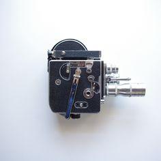 Bolex H-16 16mm Camera - 3 lenses and 5 Rolls Of 16mm Negative Film - Movie Camera by ThisCharmingManCave on Etsy  https://www.etsy.com/listing/250757637/