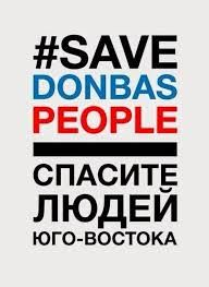 save donbass people -
