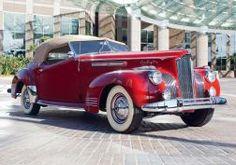 1941 Packard 180 Super Eight Convertible Victoria luxury retro fe wallpaper