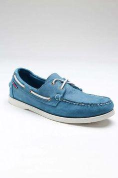 Sebago Docksides Shoe     //blue boat shoes!