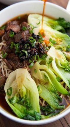 Rice Noodle Soup (Bee Thai Bak) | Recipe | Rice Noodle Soups, Rice ...