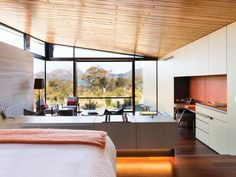 Saffire offers luxury accommodation in Freycinet at one of Australia's best hotels. Discover our unique suites & lodges in Tasmania, Australia for yourself. Hotels And Resorts, Best Hotels, Living Roofs, Hotel Guest, International Real Estate, Tasmania, Hotel Reviews, Nice View, Bedrooms