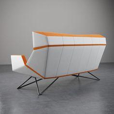 Christian Kroepfl - Architect & Designer in Vienna - Christian Kröpfl Metal Furniture, Modern Furniture, Furniture Design, Wood And Metal, Solid Wood, Vienna, Designer, Buffet, Christian