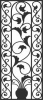 Faux Wrought Iron by Apex Window Films | Decorative Safety or Security