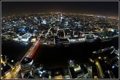 London from the Shard!   Awesome Urban Exploring report from silentuk.com.