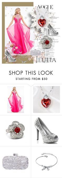 """""""Jeulia Jewerly"""" by zijadaahmetovic ❤ liked on Polyvore featuring Rachel Allan, women's clothing, women's fashion, women, female, woman, misses and juniors"""